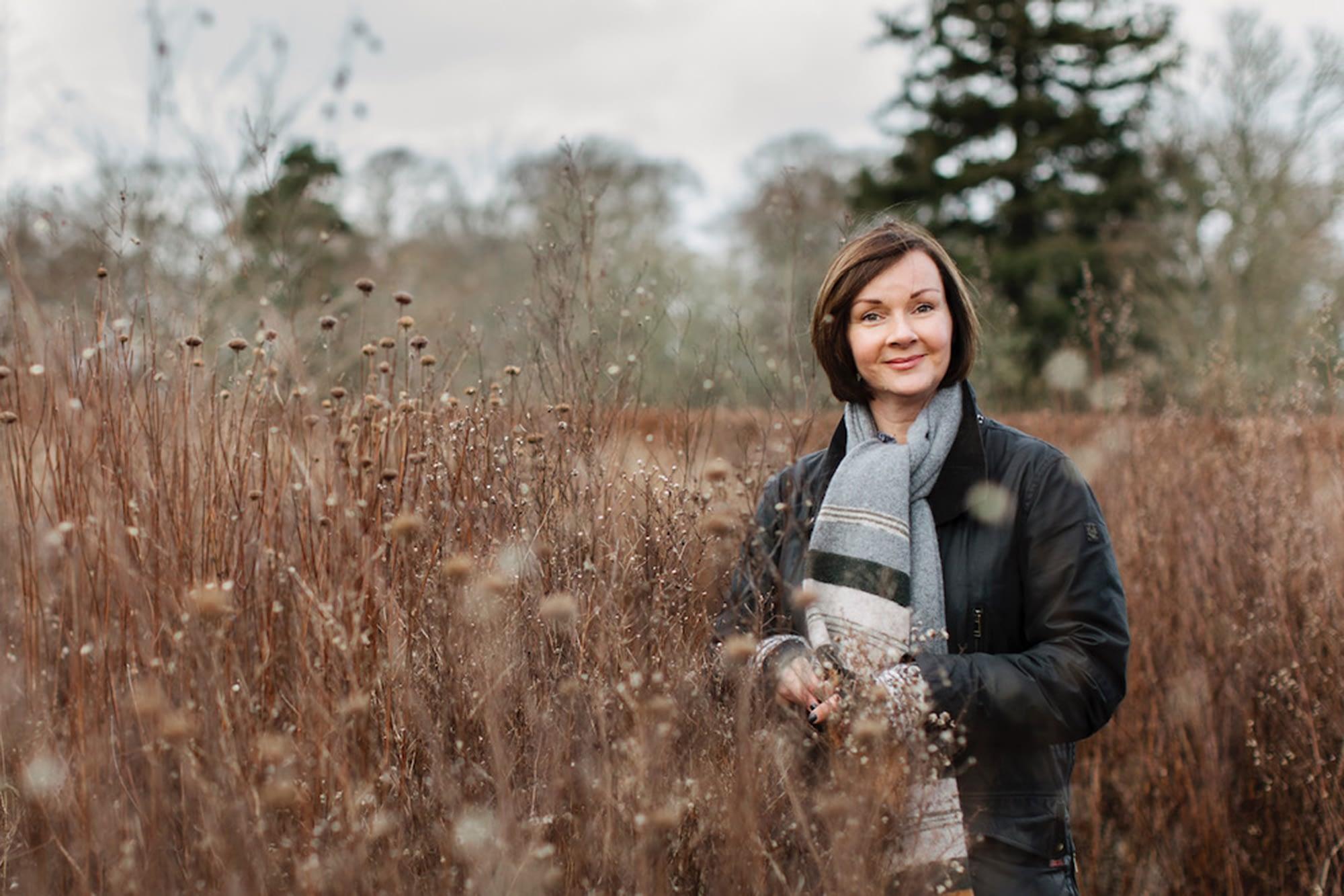 Florist Sarah Statham of Simply by Arrangement